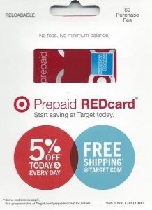 Target AmEx REDcard