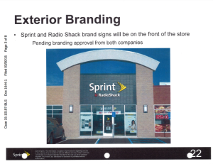 Sprint Radio Shack