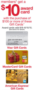 Kmart Gift Cards 10