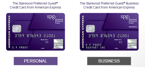 Amex SPG Business & Personal Cards 35K Points Bonus Ends