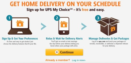UPS My Choice Premium Membership
