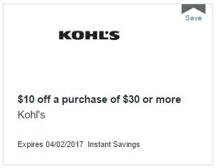Free $10 At Kohl's